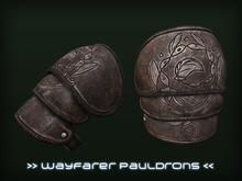 [P.0.E] - Wayfarer Fantasy Pauldrons