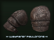 [P.0.E] - Wayfarer Fantasy Pauldrons Crate