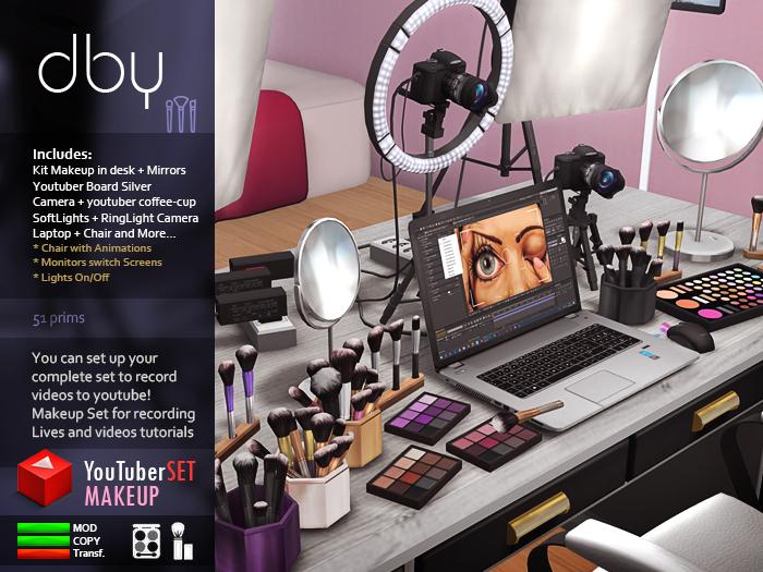 Makeup Youtuber SET