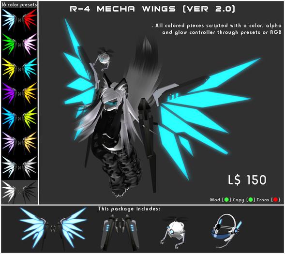 [ZEON] Classic - R-4 Mecha Wings