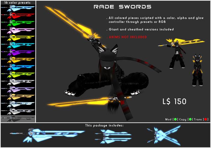 [ZEON] Classic - RADE Sword
