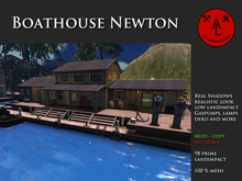 Newton Boathouse - Summer SALE - 20 %