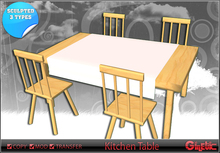[G] kitchen table