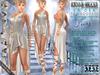 "Bella Moda: ""La'Dea"" - Ivory Goddess Outfit - Maitreya/Physique/Hourglass/Isis/Venus/Freya+Std"