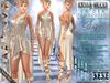 "Bella Moda: ""La'Dea"" - Beige Goddess Outfit - Maitreya/Physique/Hourglass/Isis/Venus/Freya+Std"