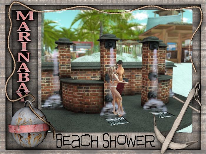 4 beach shower