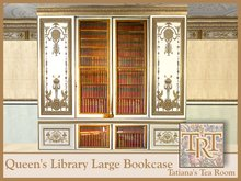 TTR-Queen's Library-Large Bookcase