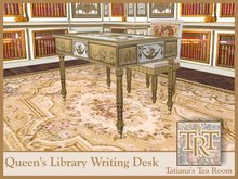 TTR-Queen's Library-Writing Desk