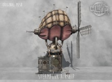 -DRD- Steampunk Airship