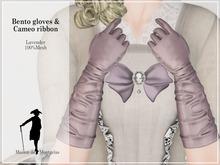 MdM - Bento Gloves & Cameo Ribbon - Lavender
