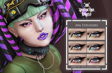 .{PSYCHO:Byts}. Ava Eyeliners Pack -