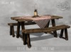 -DRD- Rustic Barbecue - Empty Table - Two