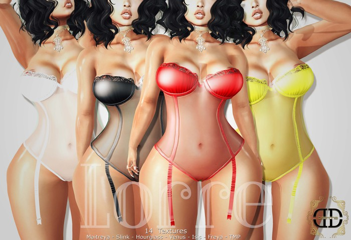 -Desmonia- Lorre Lingerie Fatpack (Wear Me)