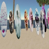 Nine driveable surfboards
