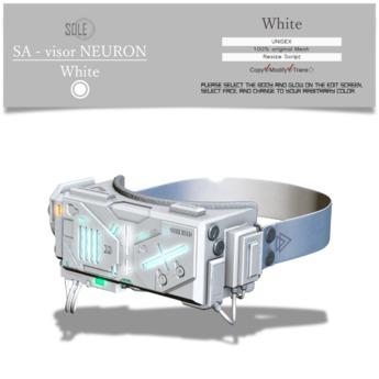 :::SOLE::: SA - Visor NEURON (White)