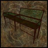 EF-Furniture: 3m Display Case - Oak