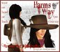 Harm's Way Brown Cowboy Hat with Feather