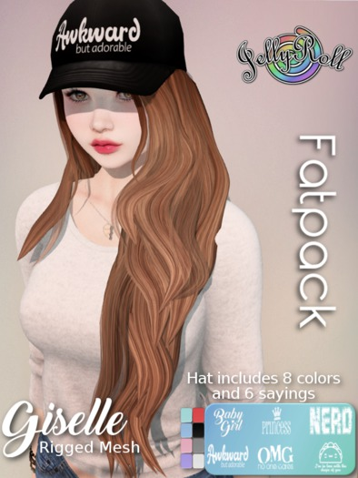JellyRoll - Giselle Hair Fatpack
