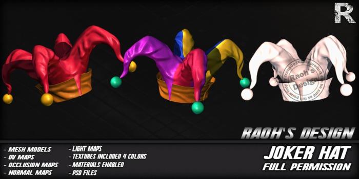 -Raoh- Joker Hat -FPBOX-