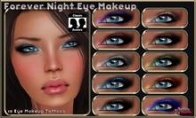 .:Glamorize:. Forever Night Eye Makeup - 10 Makeup Tattoos