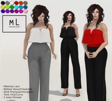 -mL- Chloe Jumper (Maitreya/3Belleza/2Slink/2Tonic/FT)