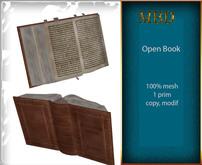 "MBD ""Open Book"" 100 % mesh, 1 prim"