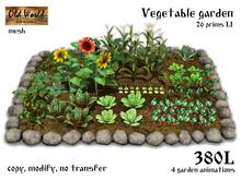 Rustic vegetable garden v3 - Old World - Medieval