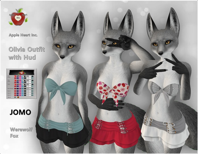 Apple Heart Inc. Jomo Olivia Outfit with Hud