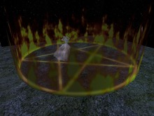 Halloween Magic Circle