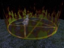 Halloween: Magischer Kreis