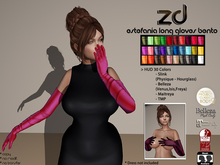 *ZD* Estefania Long Gloves
