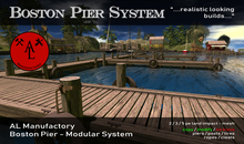 Bosten Pier System - Summer SALE - 20 %