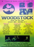 Woodstock Playbill
