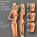 Mini Micro Bikini Templates - FULL PERMS
