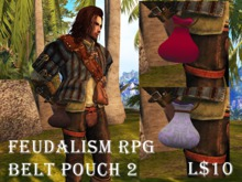 Feudalism RPG Belt Pouch 2 v2.18 Boxed