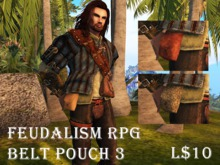 Feudalism RPG Belt Pouch 3 v2.18 Boxed