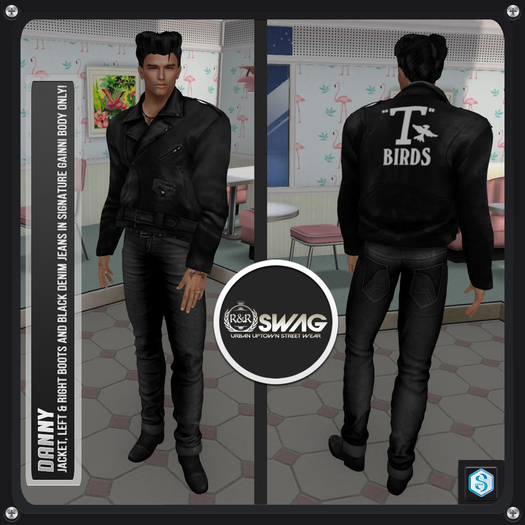 [RnR] Swag Danny Sock Hop & Grease Outfit [BOX]