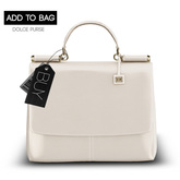-David Heather-Dolce Purse/Ivory