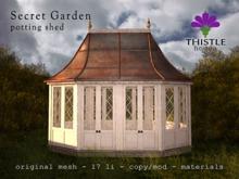 Thistle Homes - Secret Garden Potting Shed - original mesh