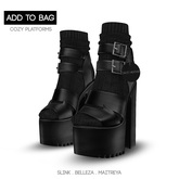 -David Heather-Cozy Platforms/Black