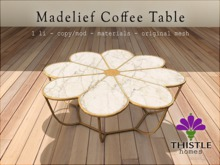 Thistle Homes - Madelief Coffee Table - original mesh