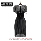 -David Heather-Alejandra Dress/Black