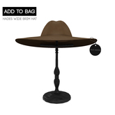 -David Heather-Hades Wide Brim Hat/Sand