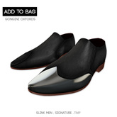 -David Heather-Gongini Oxfords/Black
