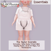 {WF} - Full Perm - Taylor Overalls  [BEBE ONLY]