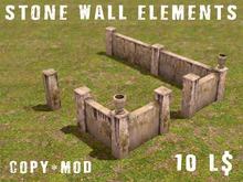 Stone Walls - Concrete Wall Elements