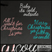 [Kres] Christmas Sayings - Baby Its Cold