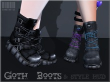z! Goth Boots // HUD controlled