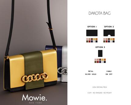 """Mowie. - """"Dakota"""" Bag"""