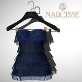 -Narcisse- ADD Jean Flapper Dress - Sapphire